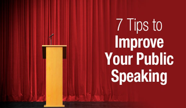 improve your public speaking Public speaking even the thought of it can send shivers down the spine of most people in fact, some people fear it more than death but standing in front of a crowd can be a duty found in the.
